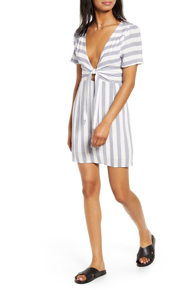 LIRA CLOTHING Out West Stripe Dress, Main, color, 400