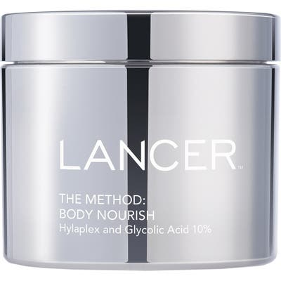 Lancer Skincare The Method Body Nourish Creme