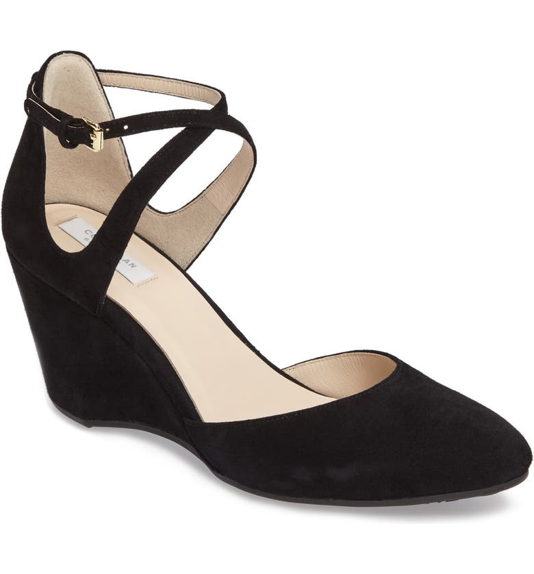 f556eeb501 Cole Haan Lacey Ankle Strap Wedge Pump (Women) | Nordstrom