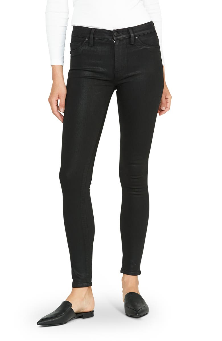 HUDSON JEANS Barbara High Waist Skinny Jeans, Main, color, NOIR CO 3