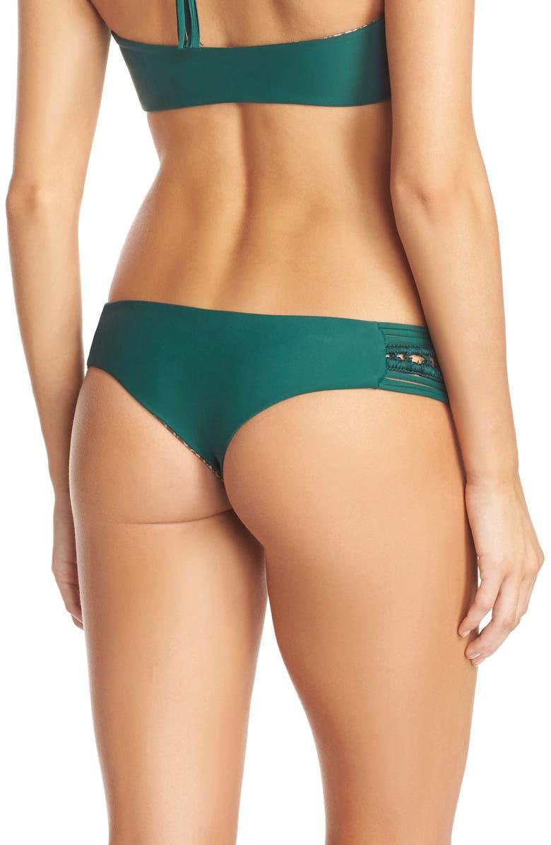 ACACIA SWIMWEAR 'Pikake' Brazilian Bikini Bottoms, Main, color, 300