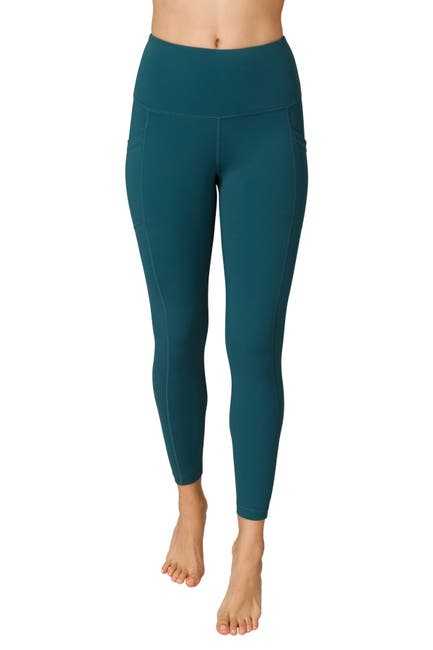 Image of 90 Degree By Reflex Interlink High Waist Pocket Ankle Leggings