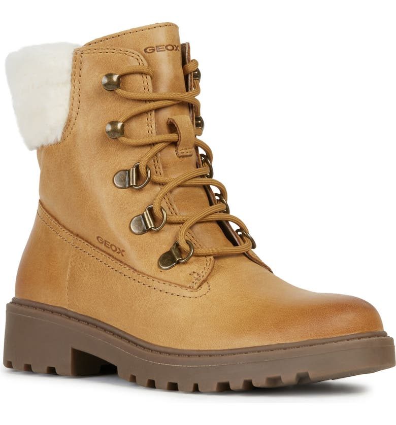 GEOX Casey 25 Bootie, Main, color, BISCUIT