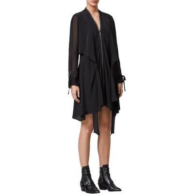 Allsaints Jayda Long Sleeve Dress, Black