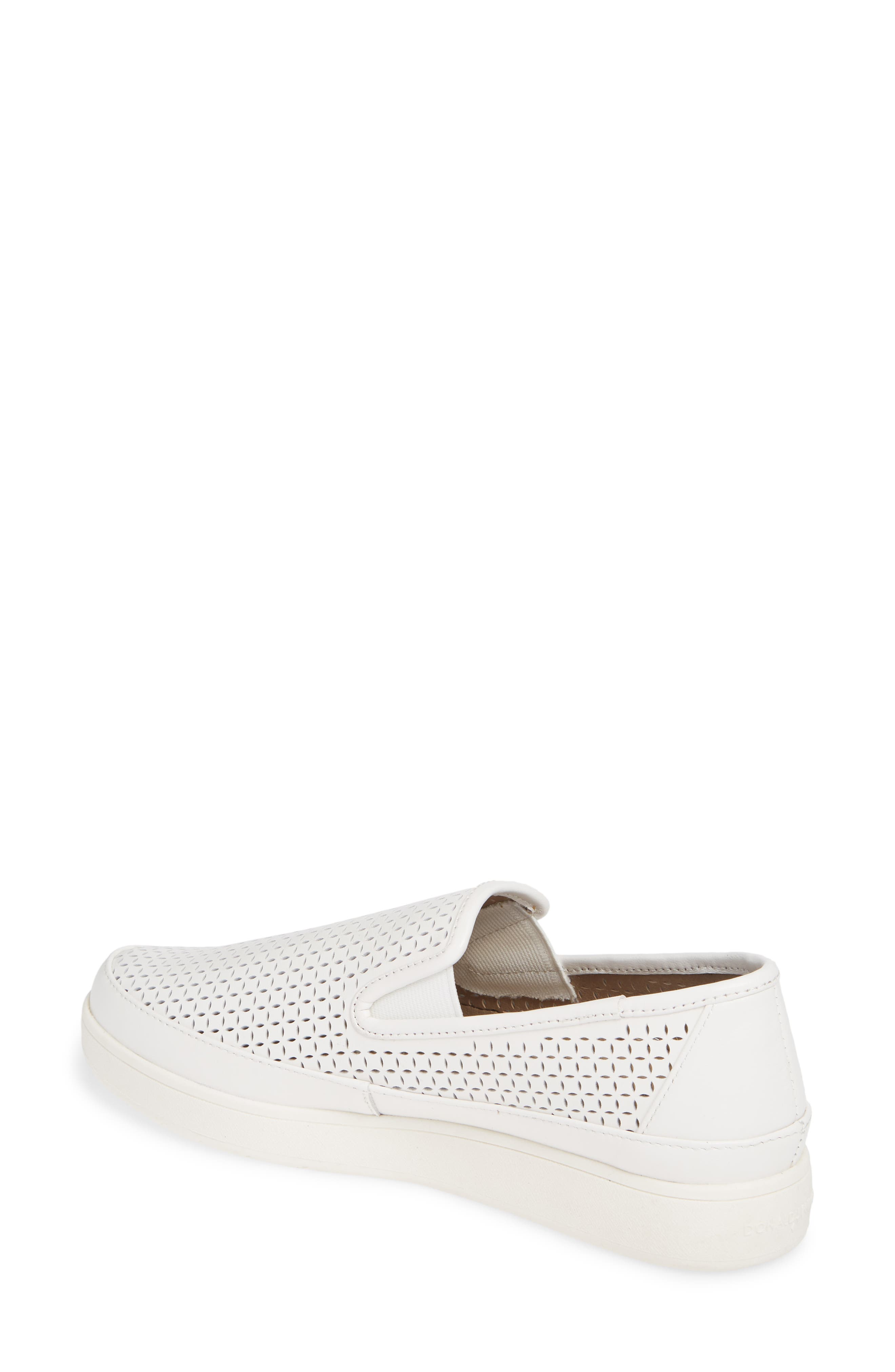 ,                             Maddox Perforated Slip-On Sneaker,                             Alternate thumbnail 2, color,                             100