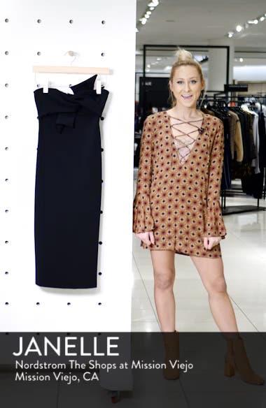 Twist Bow Sheath Dress, sales video thumbnail