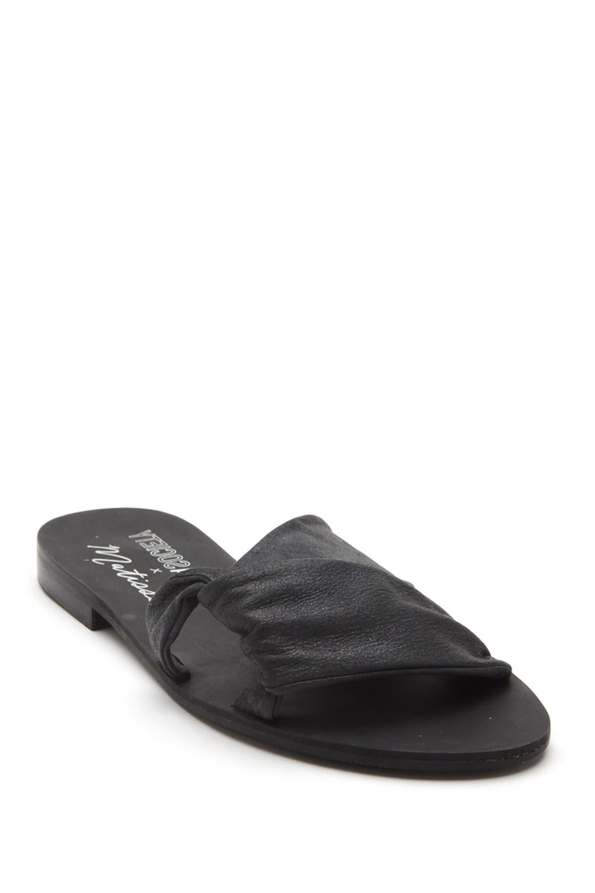 Image of Matisse Capri Slide Leather Sandal