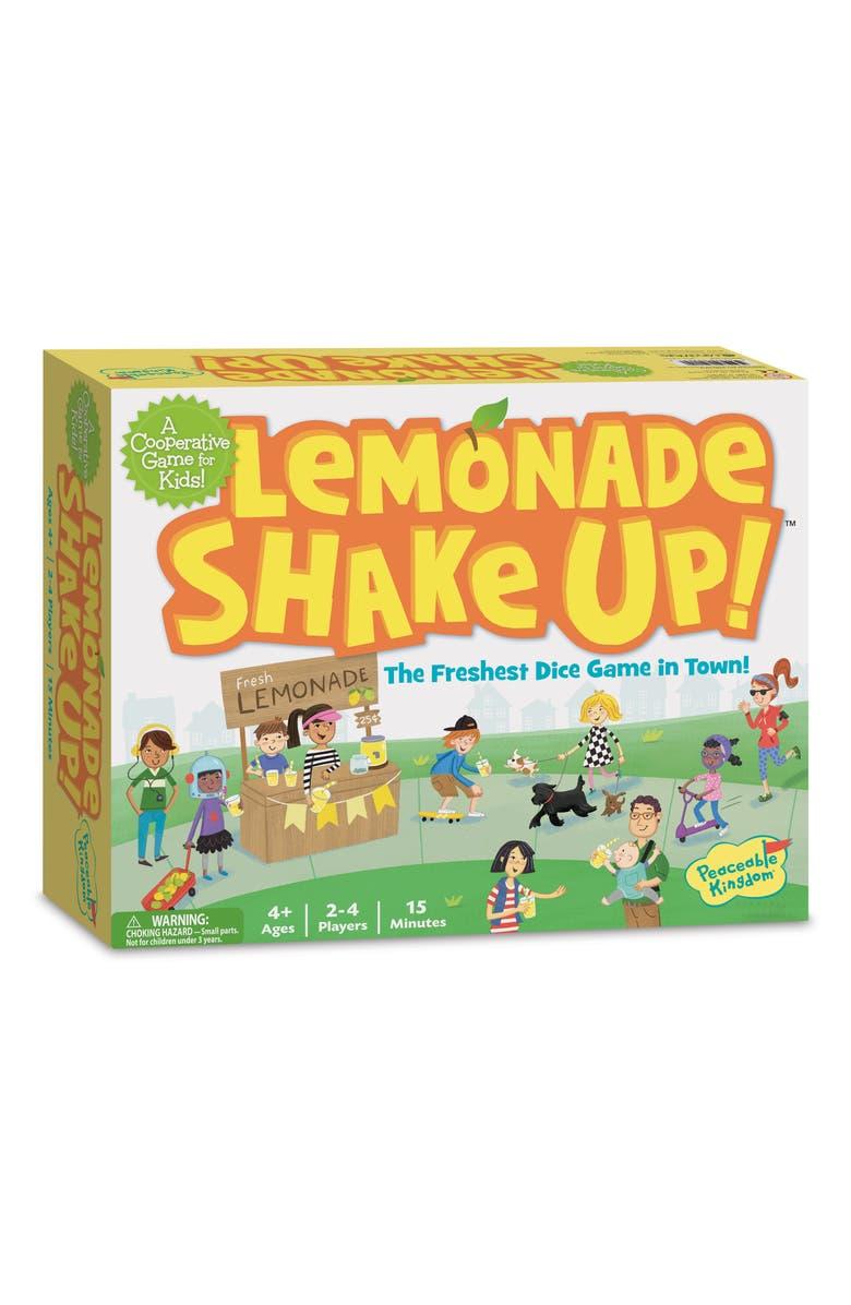 PEACEABLE KINGDOM Lemonade Shake Up Game, Main, color, NONE