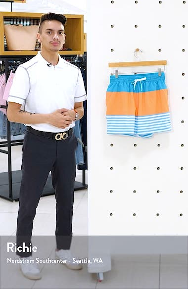 The Deckhands 5.5-Inch Swim Trunks, sales video thumbnail