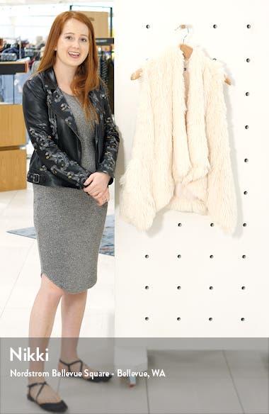 Cascade Faux Fur Vest, sales video thumbnail