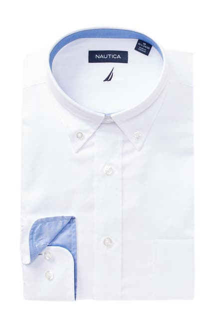 Image of Nautica Oxford Classic Fit Dress Shirt