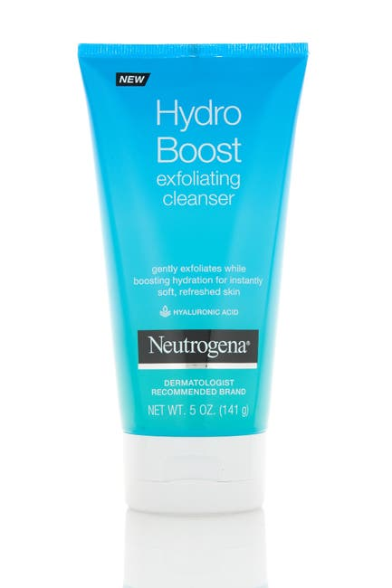 Image of Neutrogena Hydro Boost Gentle Exfoliating Facial Cleanser - 5 oz.