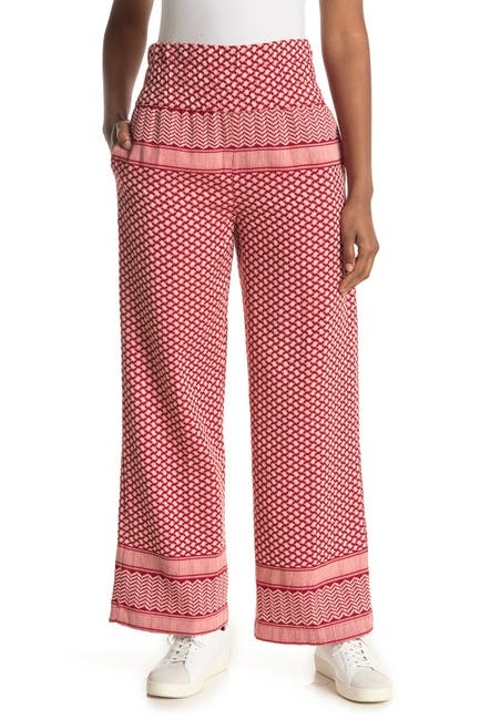 Image of Cecilie Copenhagen Printed Trousers