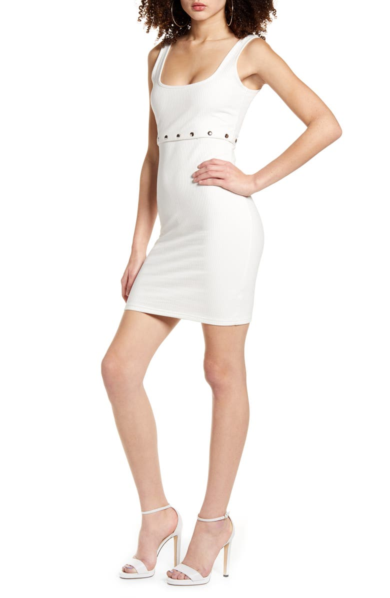 TIGER MIST Express Two-Piece Dress, Main, color, WHITE