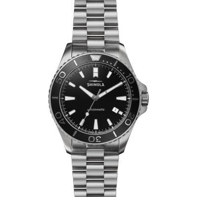 Shinola Monster Automatic Bracelet Watch, 4m