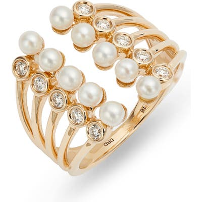 Dana Rebecca Designs Pearl Ivy Open Stack Ring