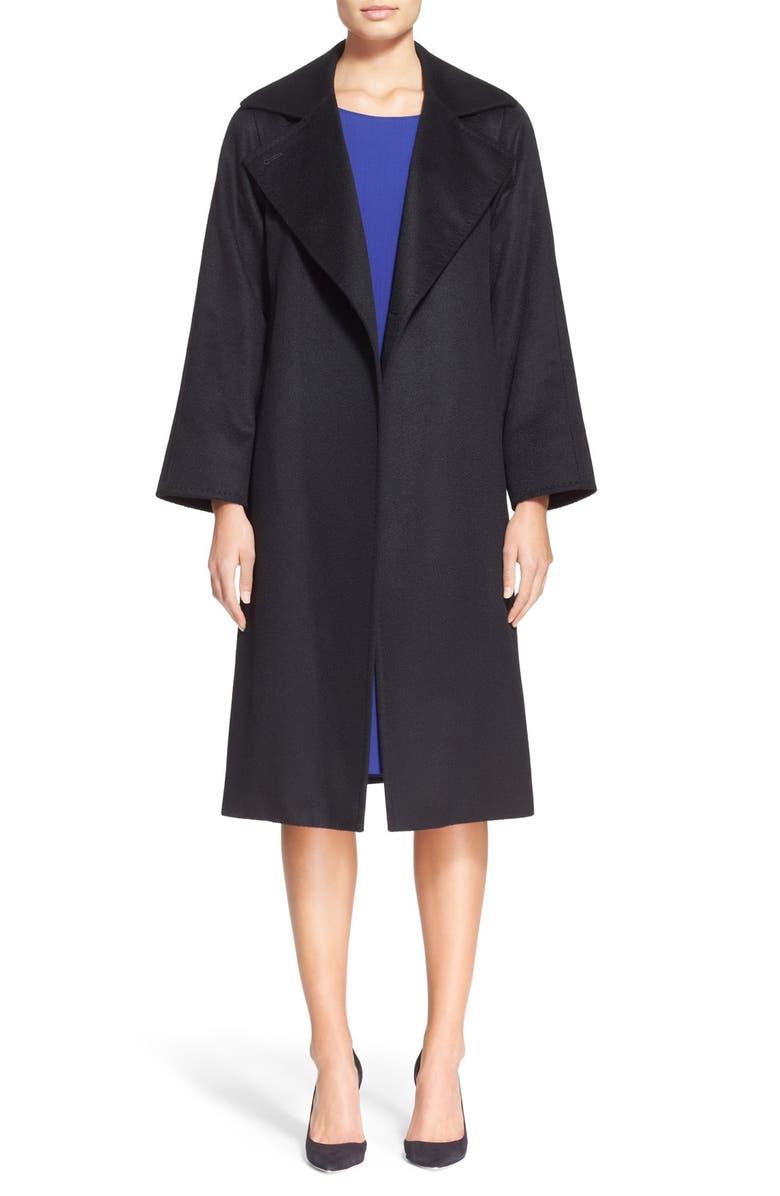 MAX MARA 'Manuela' Camel Hair Coat, Main, color, 001