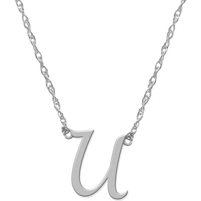 Jane Basch Designs Initial Pendant Necklace
