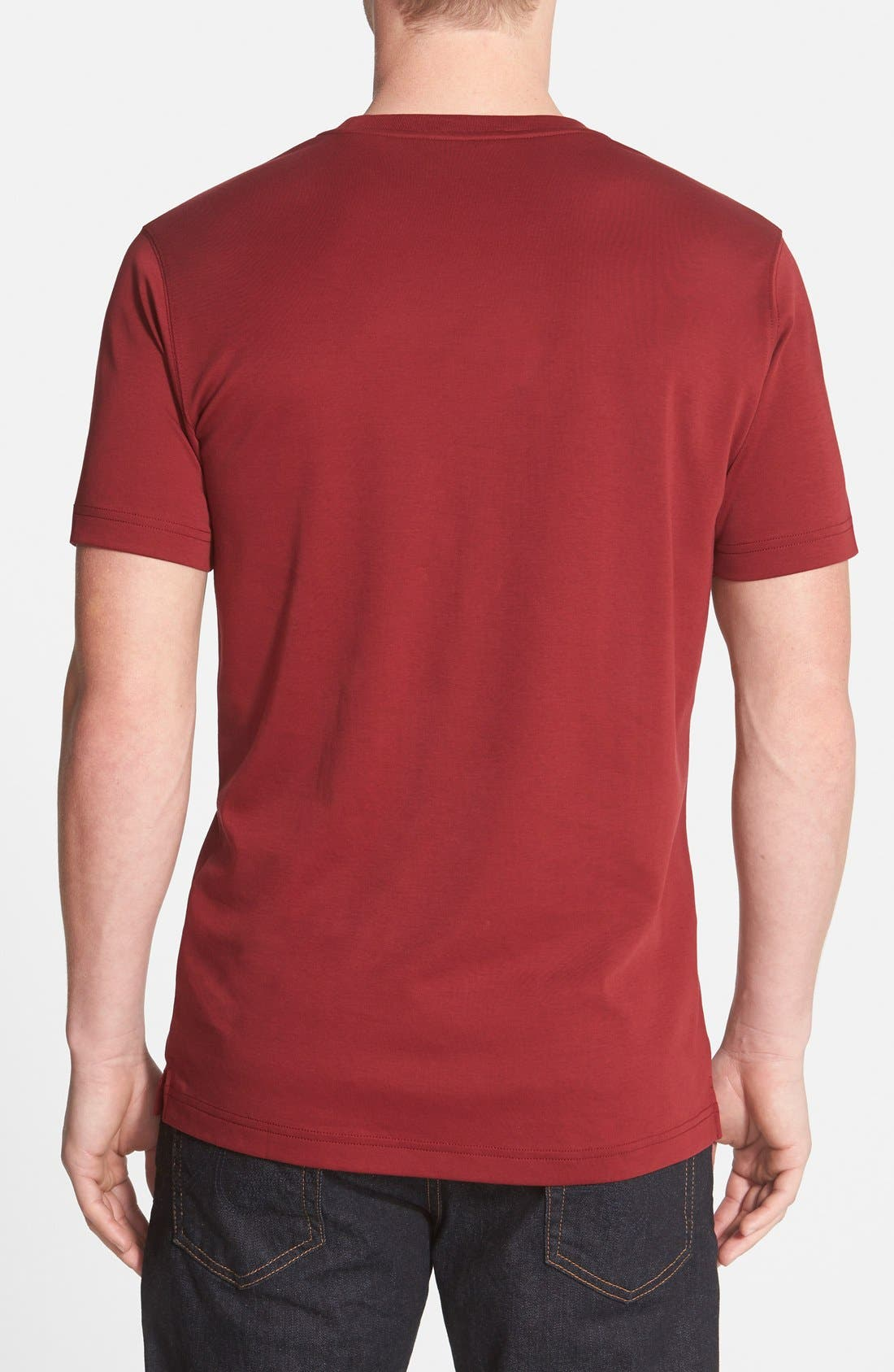 ,                             Georgia Crewneck T-Shirt,                             Alternate thumbnail 432, color,                             603
