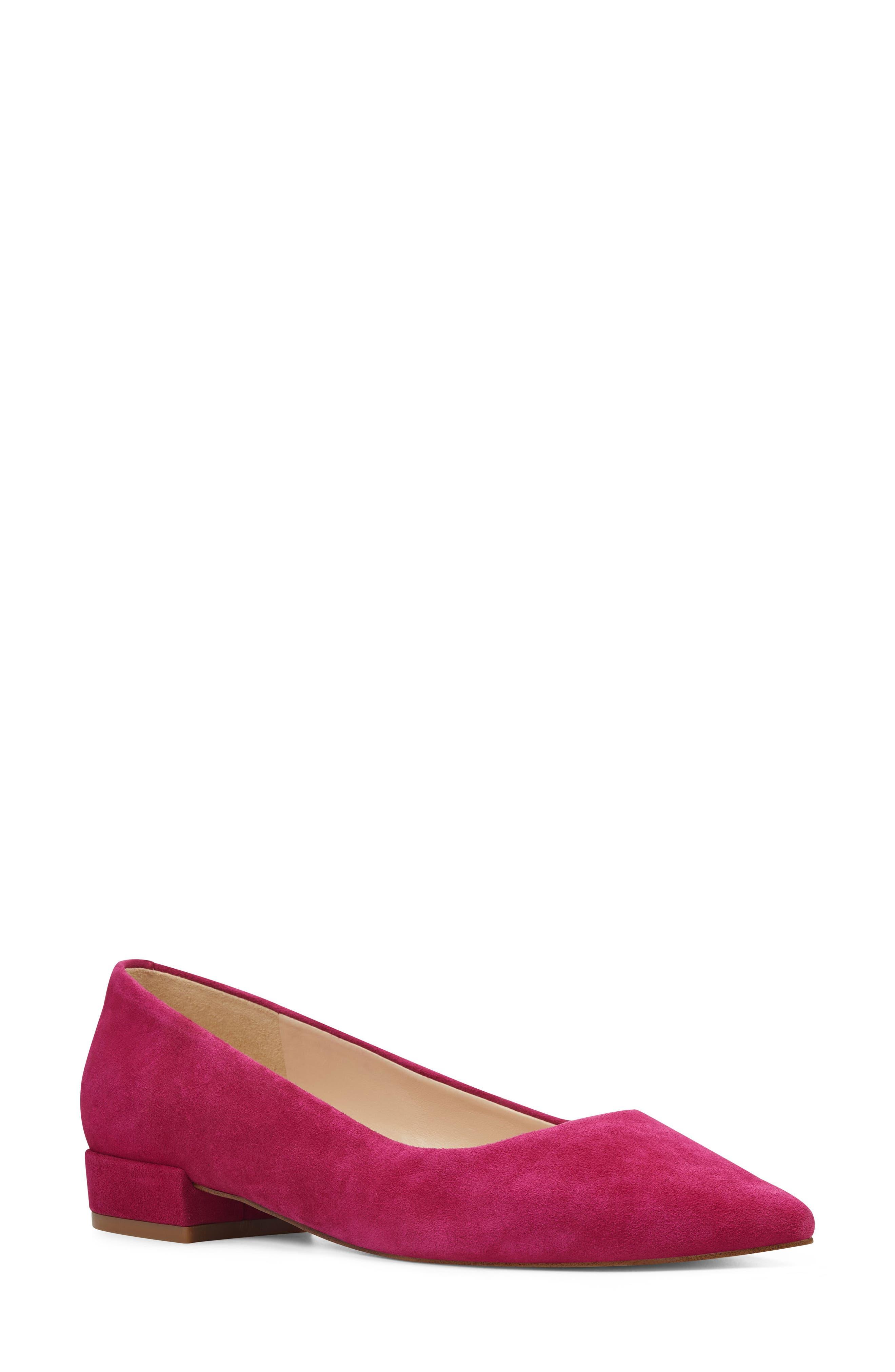 Nine West Fayth Pointy Toe Pump- Pink