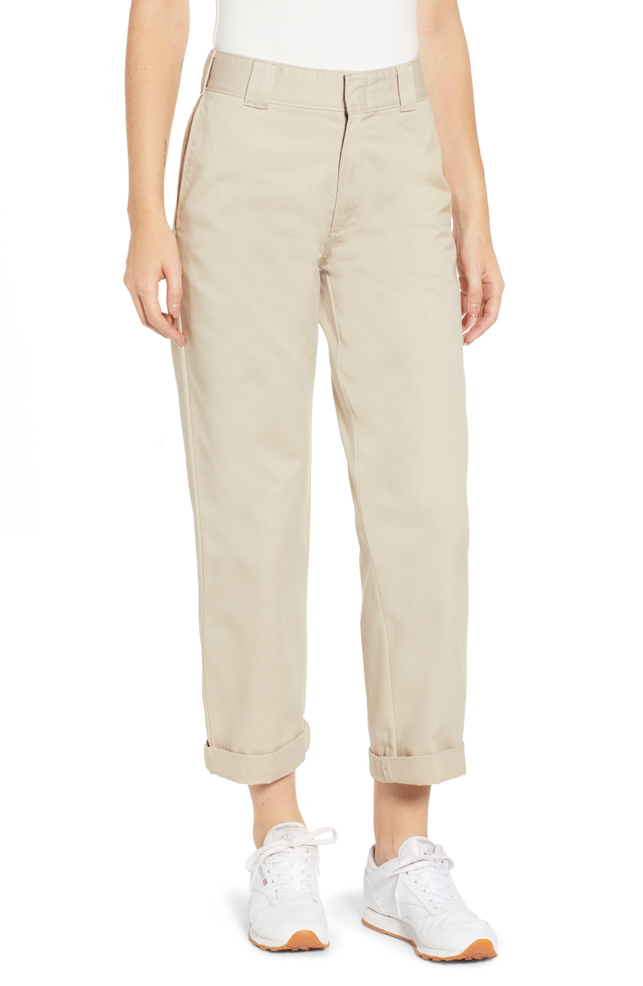 Crop Work Pants
