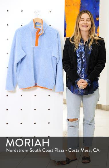 Snap Fleece Pullover, sales video thumbnail