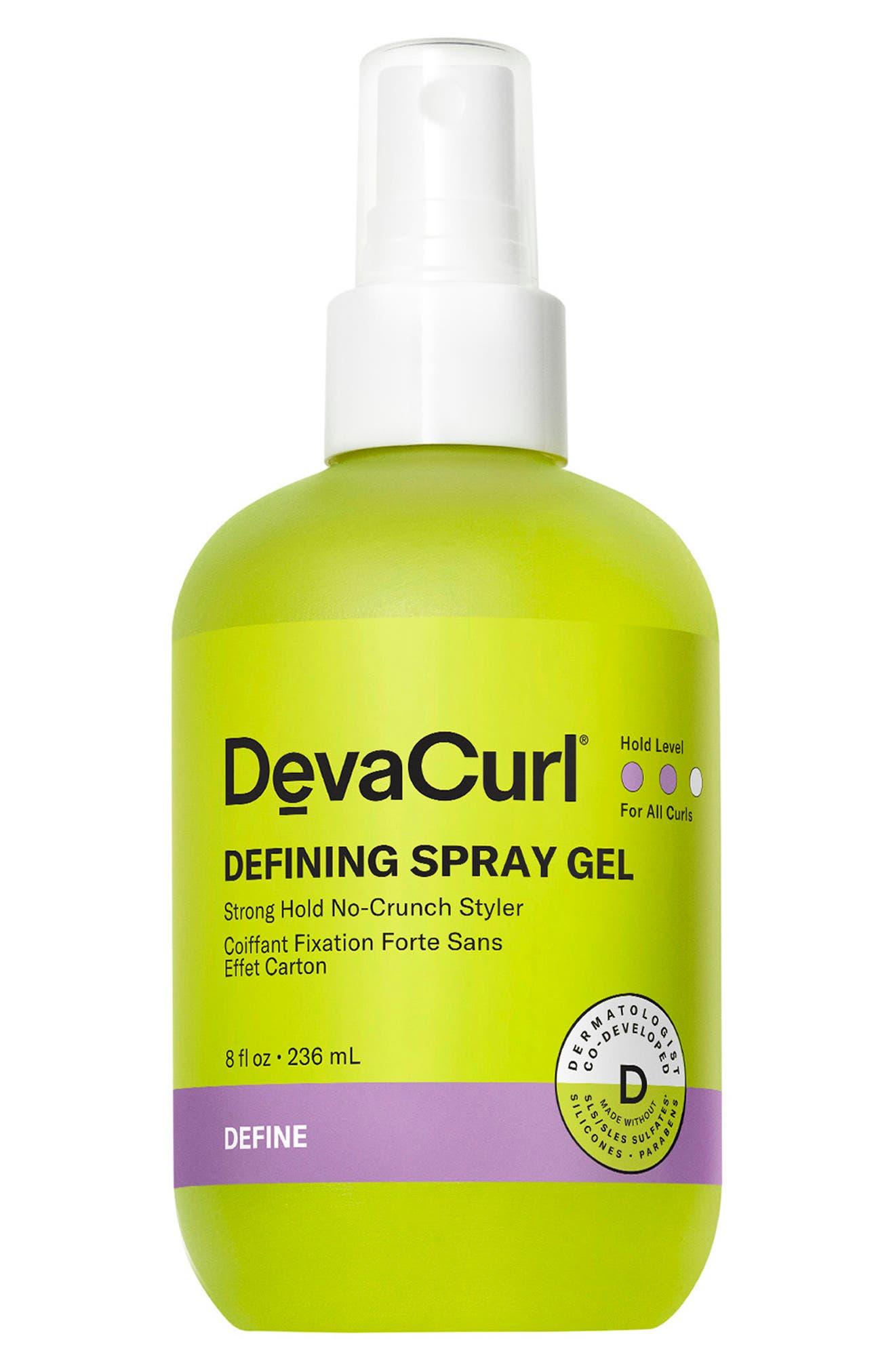 Defining Spray Gel Strong Hold No-Crunch Styler