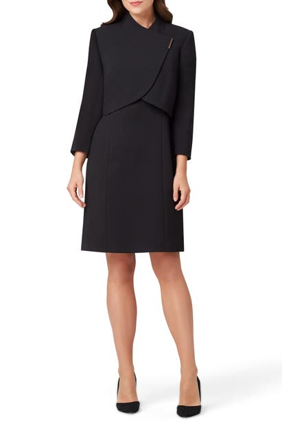 Tahari Dresses SHEATH DRESS & CROPPED JACKET