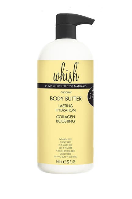 Image of Whish Coconut Body Butter - 32 fl oz