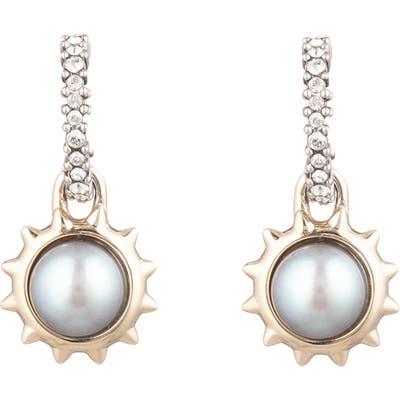 Alexis Bittar Georgian Mabe Pearl Drop Earrings