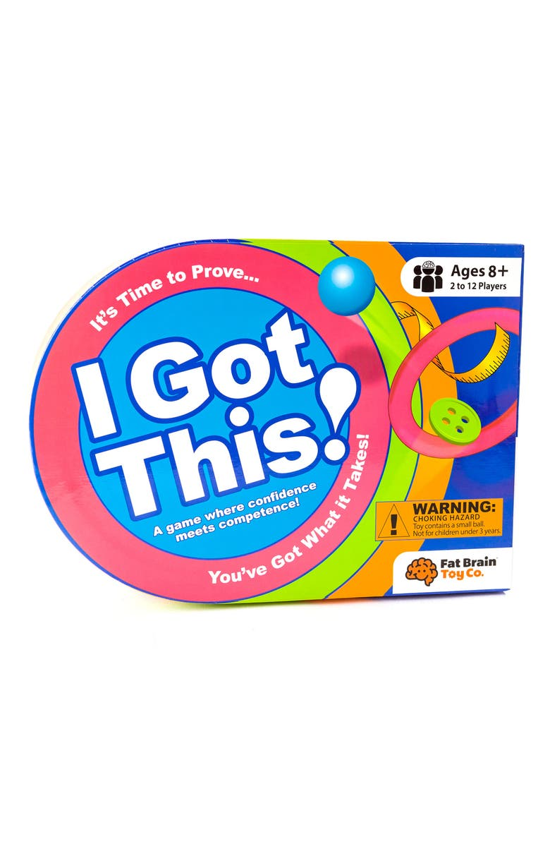 FAT BRAIN TOYS I Got This! Game, Main, color, 400