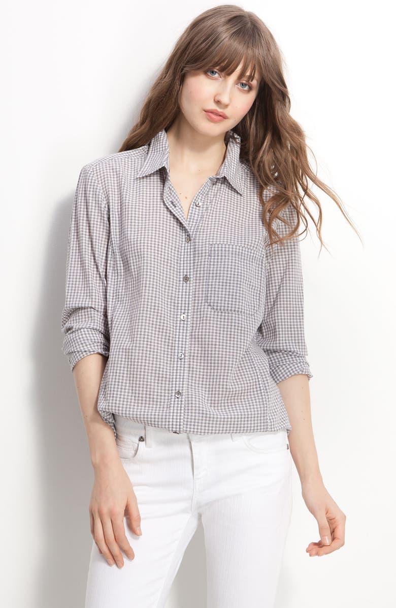 CASLON<SUP>®</SUP> Boyfriend Shirt, Main, color, 020