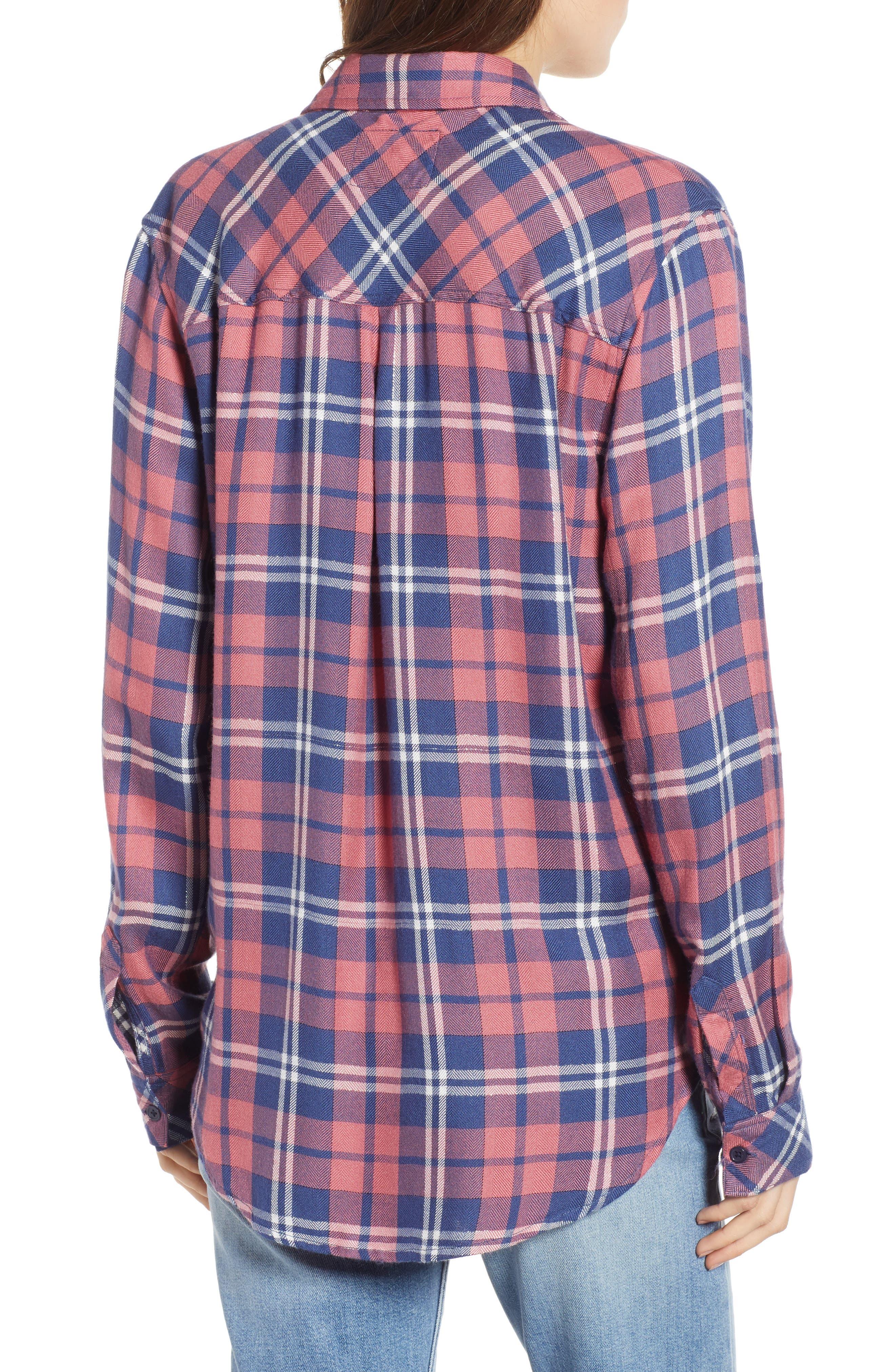 ,                             Hunter Plaid Shirt,                             Alternate thumbnail 424, color,                             603