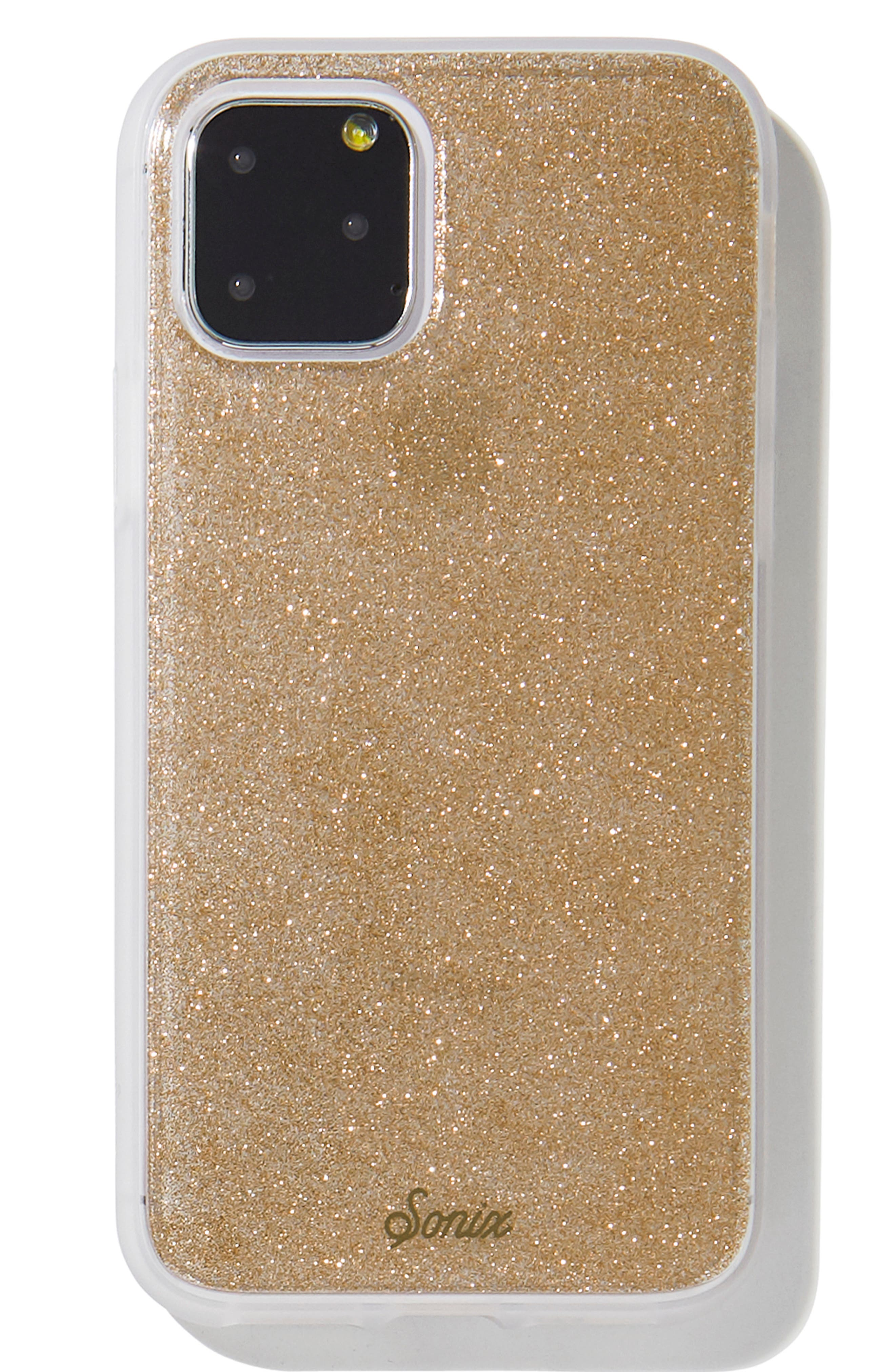 Image of SONIX Rose Gold Glitter iPhone 11 Case