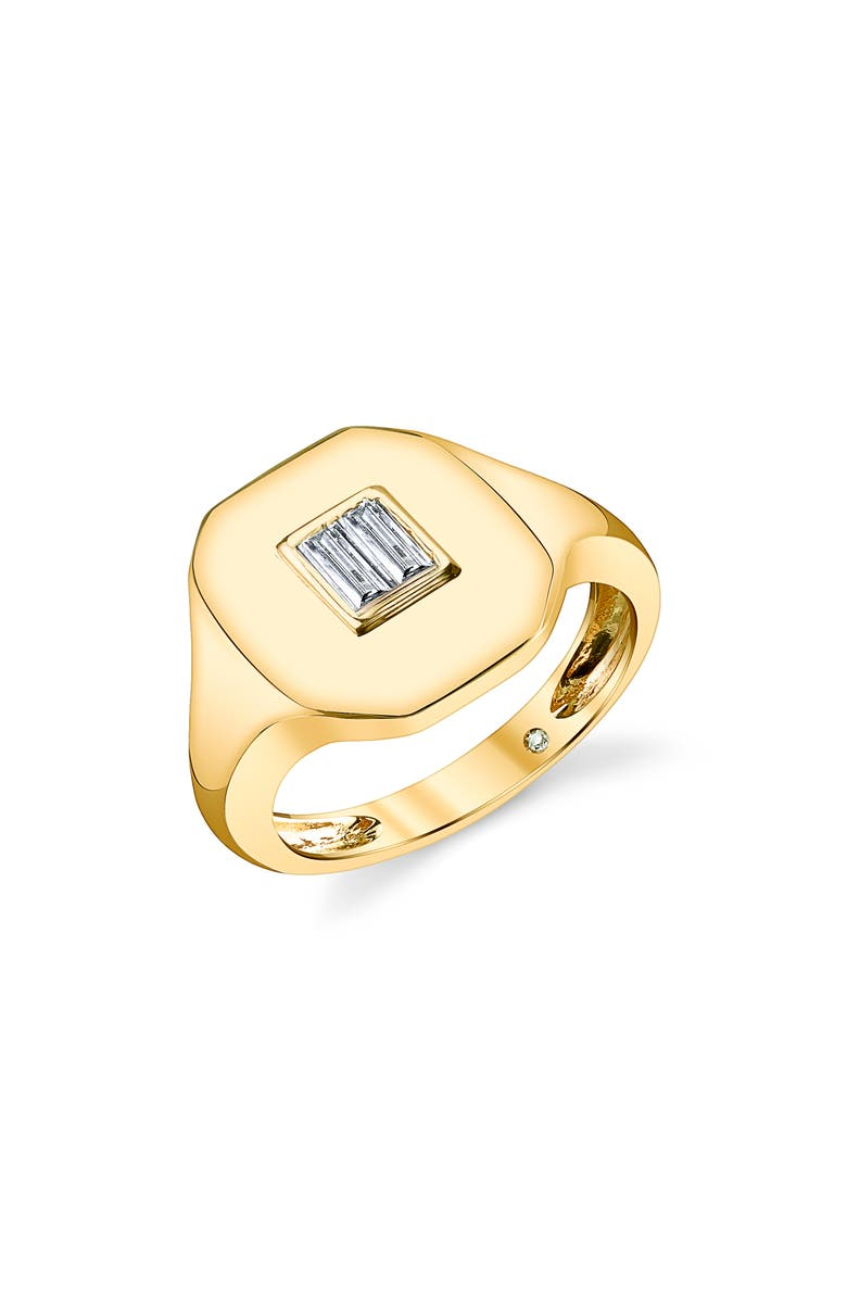 SHAY Essential Pinky Ring, Main, color, DIAMOND