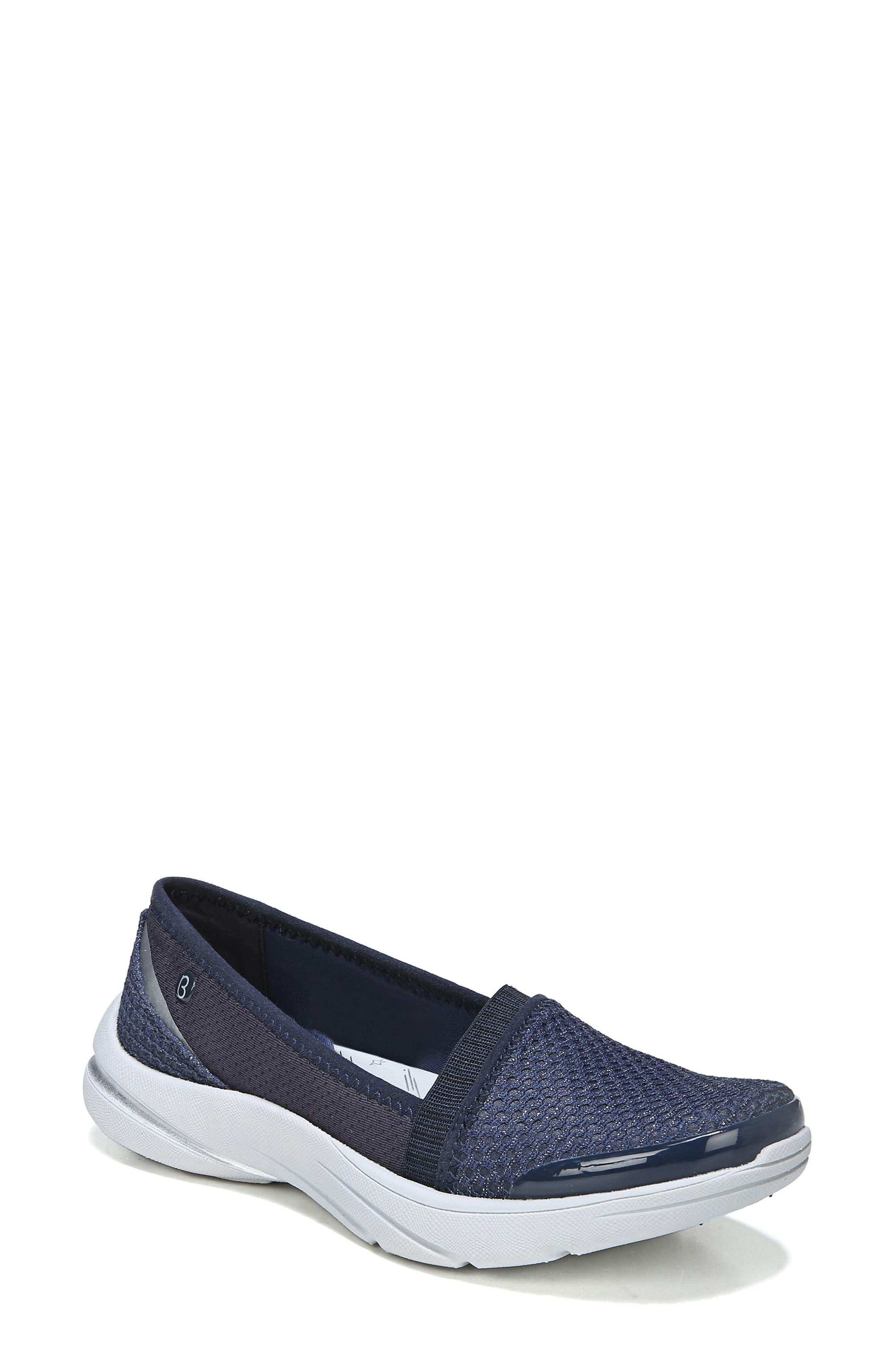 Bzees Lollipop Slip-On Sneaker, Blue
