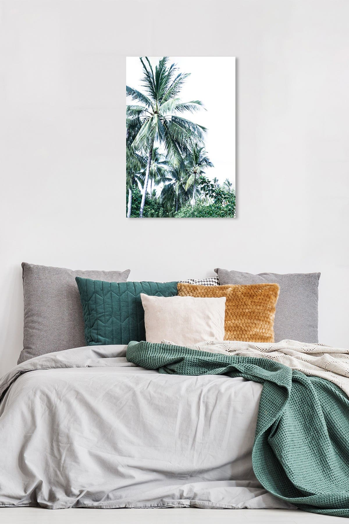 Image of Wynwood Studio On Palm Time Vert Green Wall Art