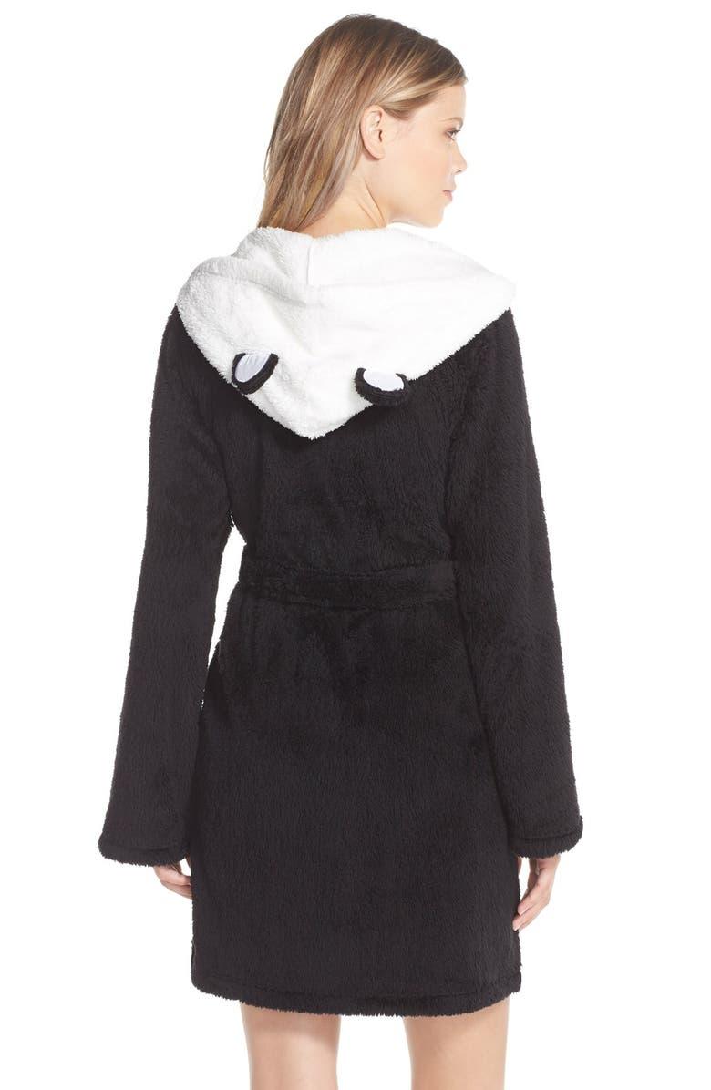 COZY ZOE Animal Ear Hooded Robe, Main, color, 001