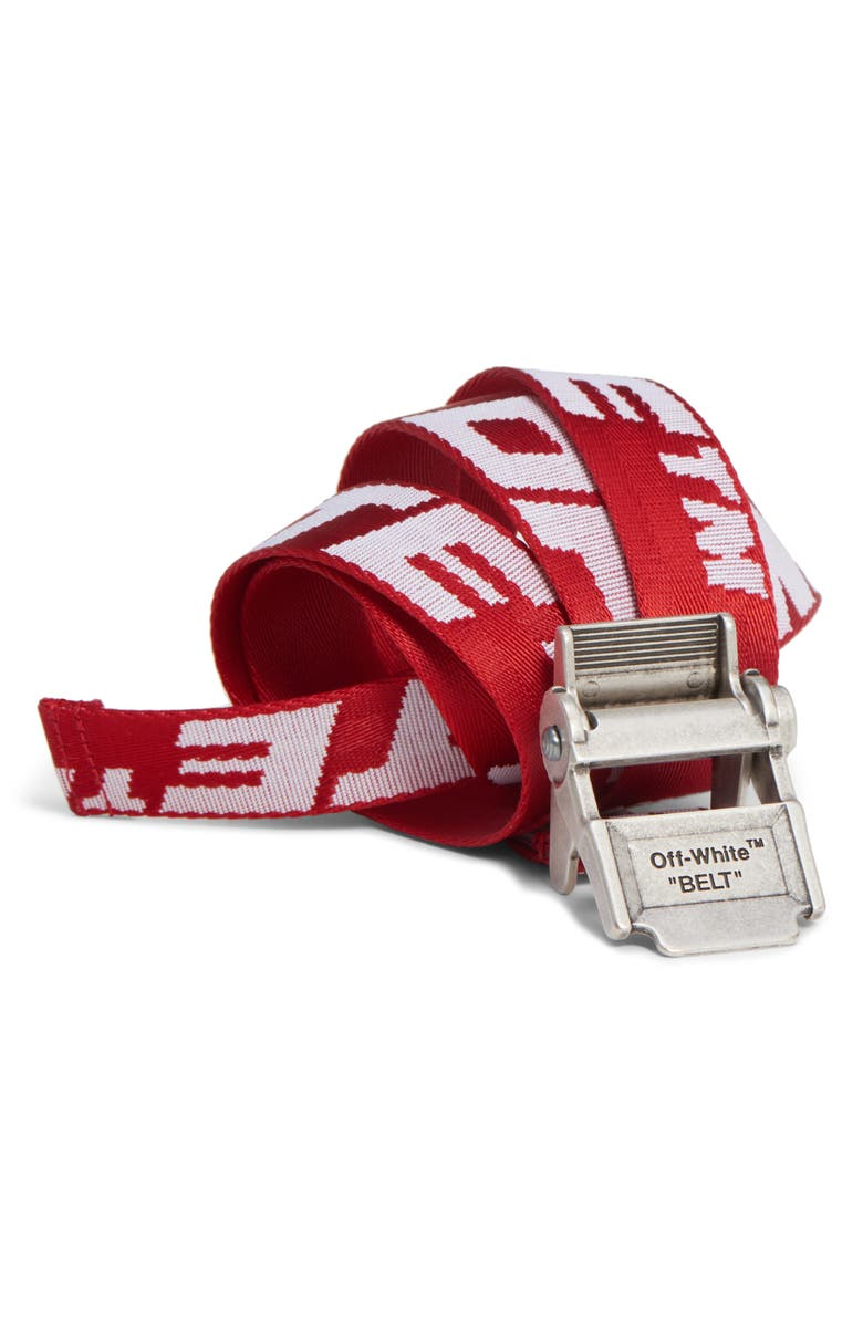 OFF-WHITE Mini 2.0 Industrial Belt, Main, color, 600