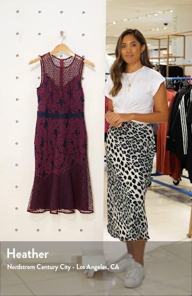 Sonya Floral Lace Cocktail Dress, sales video thumbnail