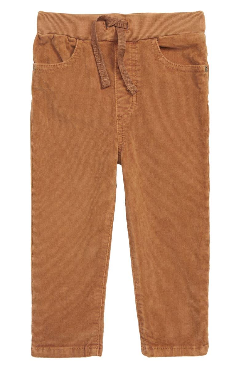 TUCKER + TATE Corduroy Pants, Main, color, BROWN TOFFEE