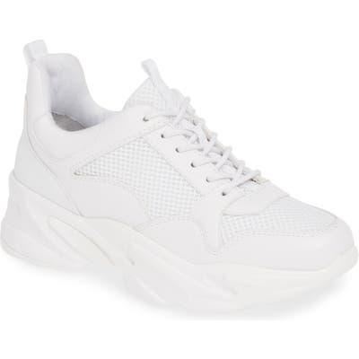 Steve Madden Moving Sneaker, White