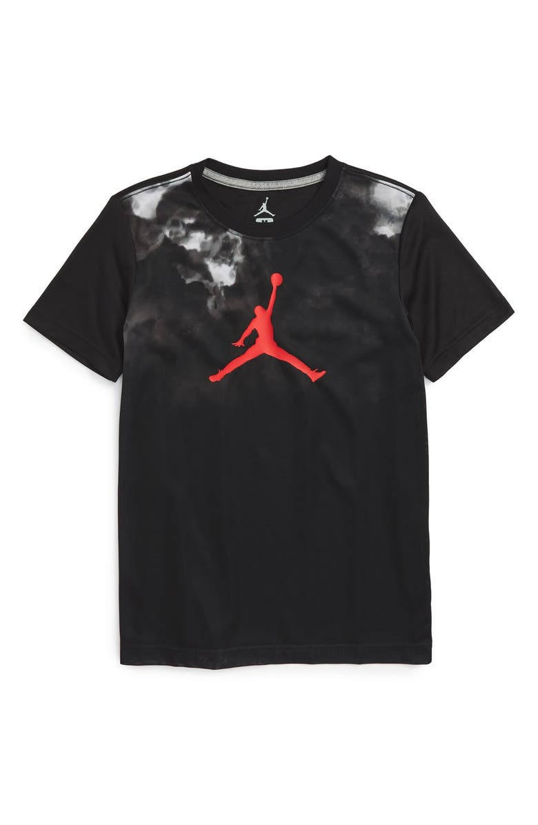 JORDAN Nightmares Graphic Dri-FIT T-Shirt, Main, color, 001