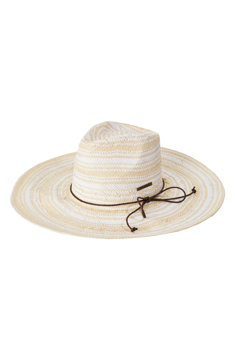 O'NEILL Intone Wide Brim Straw Hat, Main, color, 250