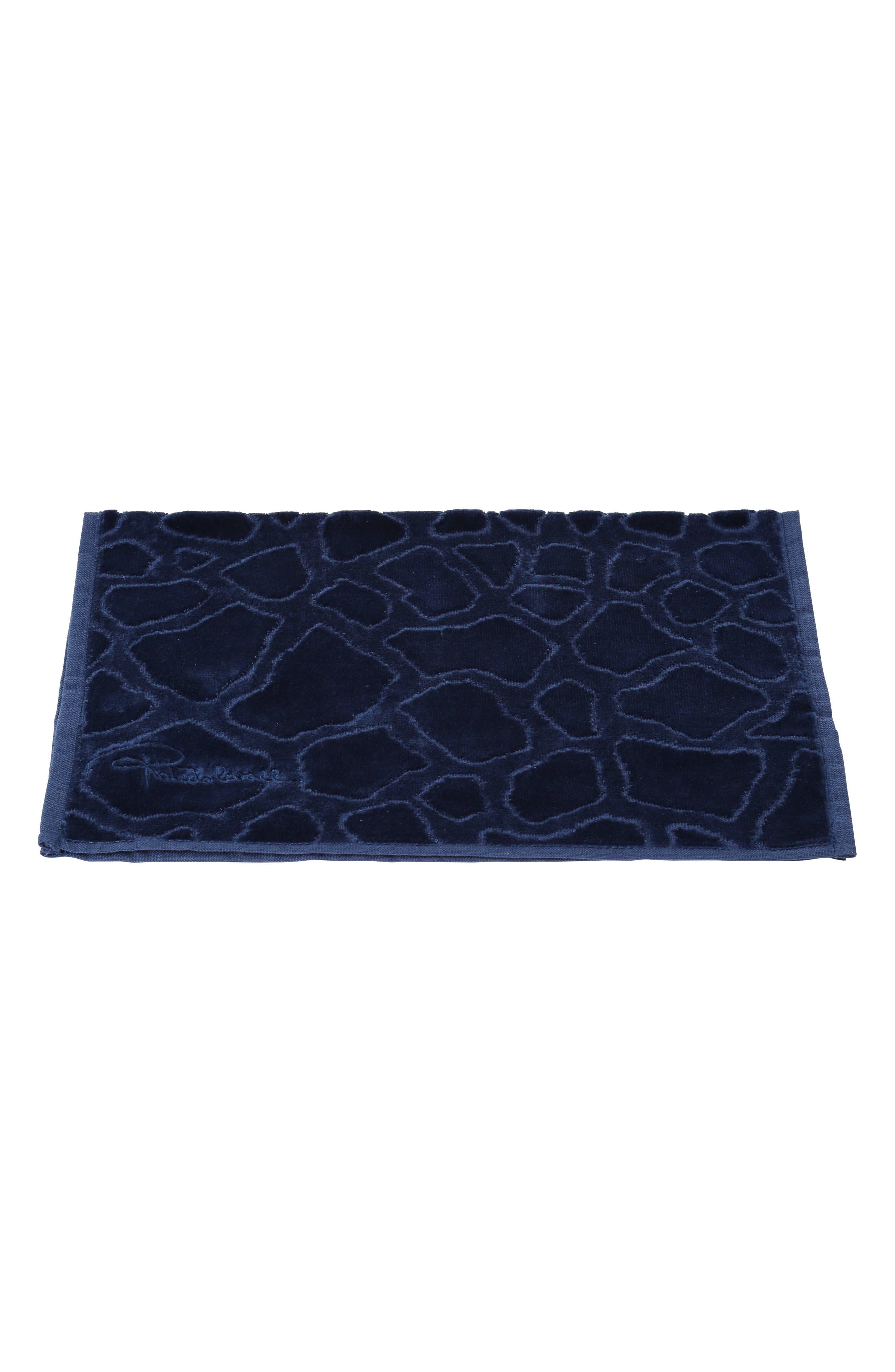 Roberto Cavalli Jerapha Hand Towel Size One Size  Blue