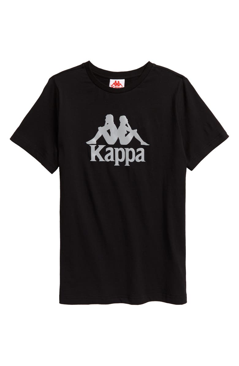 KAPPA 222 Banda Dris T-Shirt, Main, color, 001