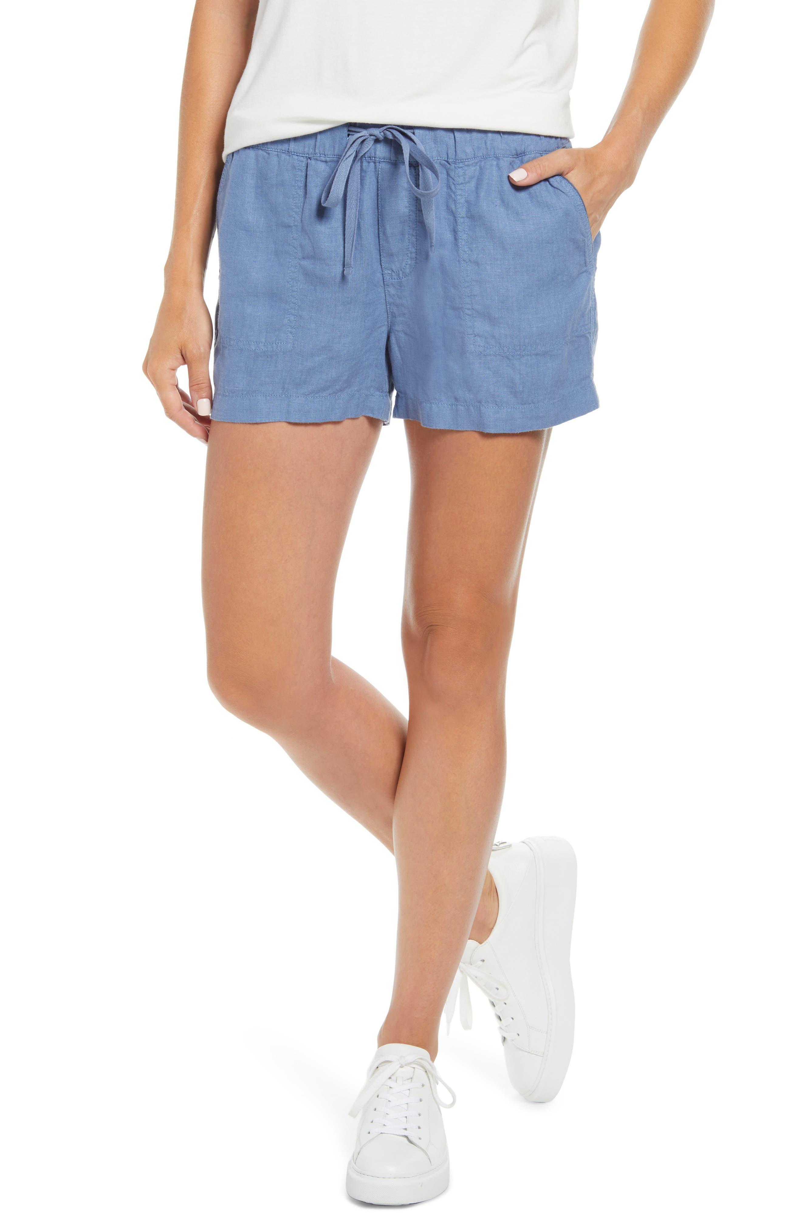 Women's Caslon Linen Shorts