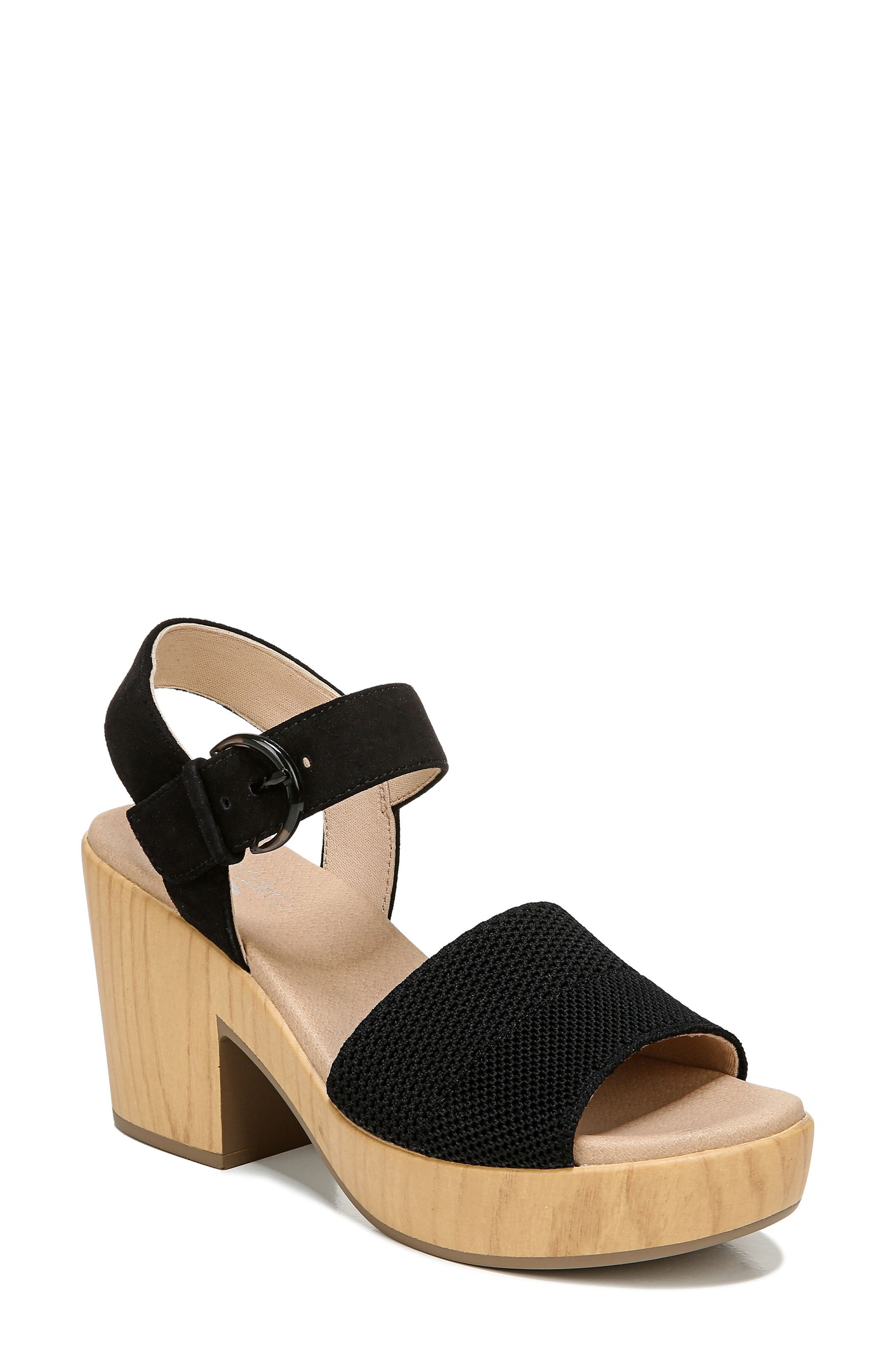 Brickell Eco Block Heel Sandal