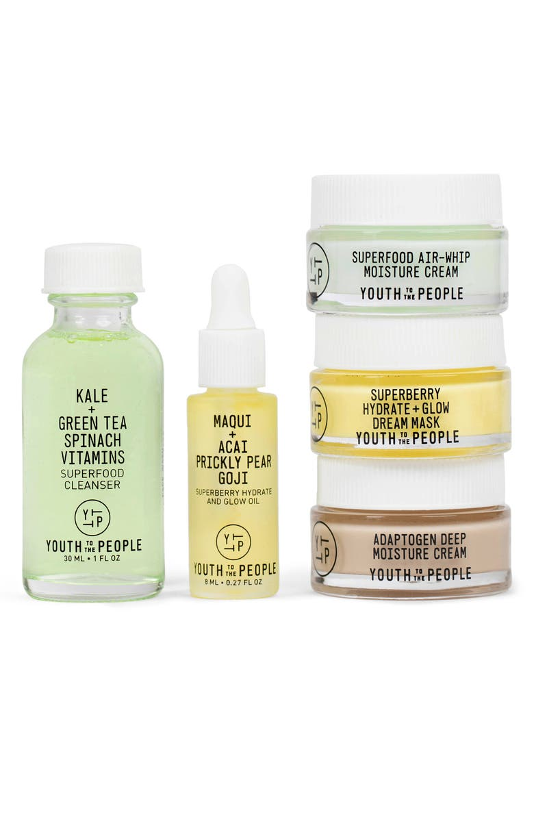 YOUTH TO THE PEOPLE Mini Skin Care Set, Main, color, NO COLOR