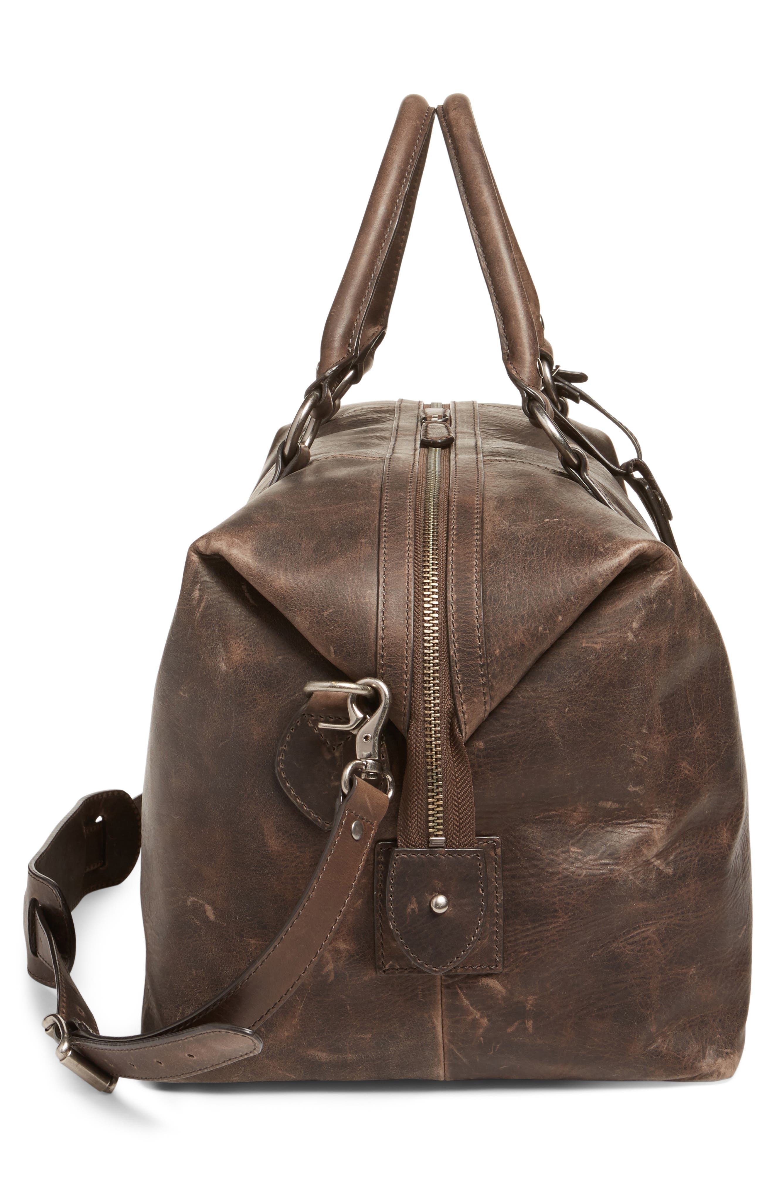 ,                             'Logan' Leather Overnight Bag,                             Alternate thumbnail 12, color,                             209
